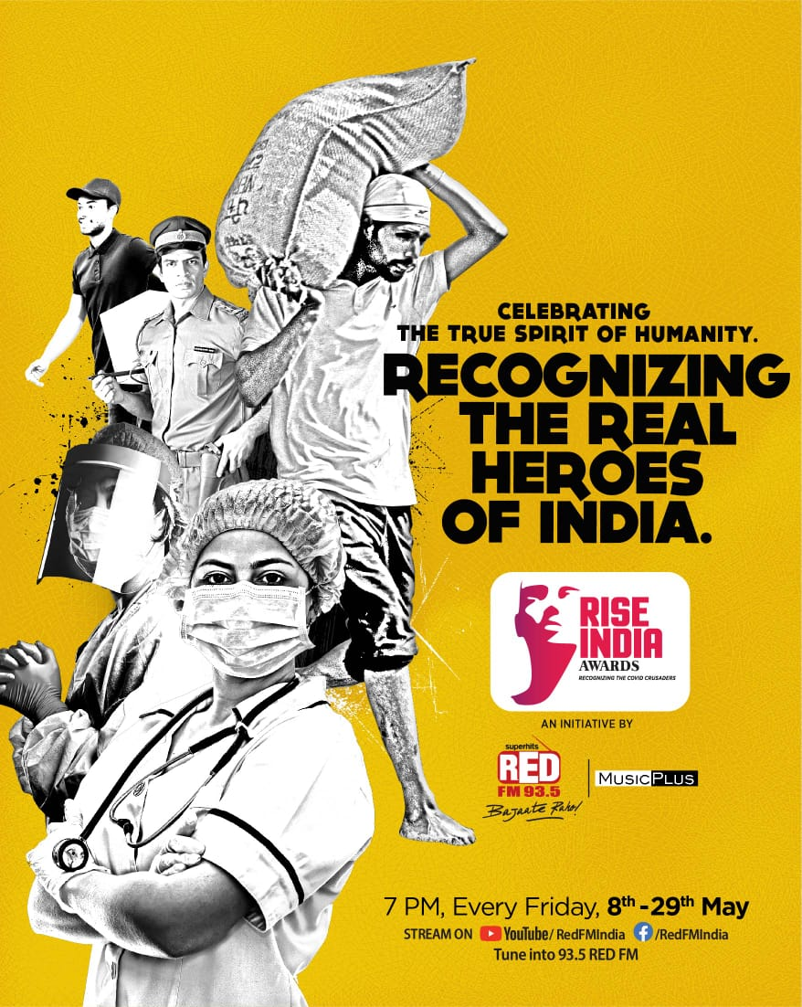 'RISE INDIA Awards' to honor COVID crusaders in its first episode on 8th May