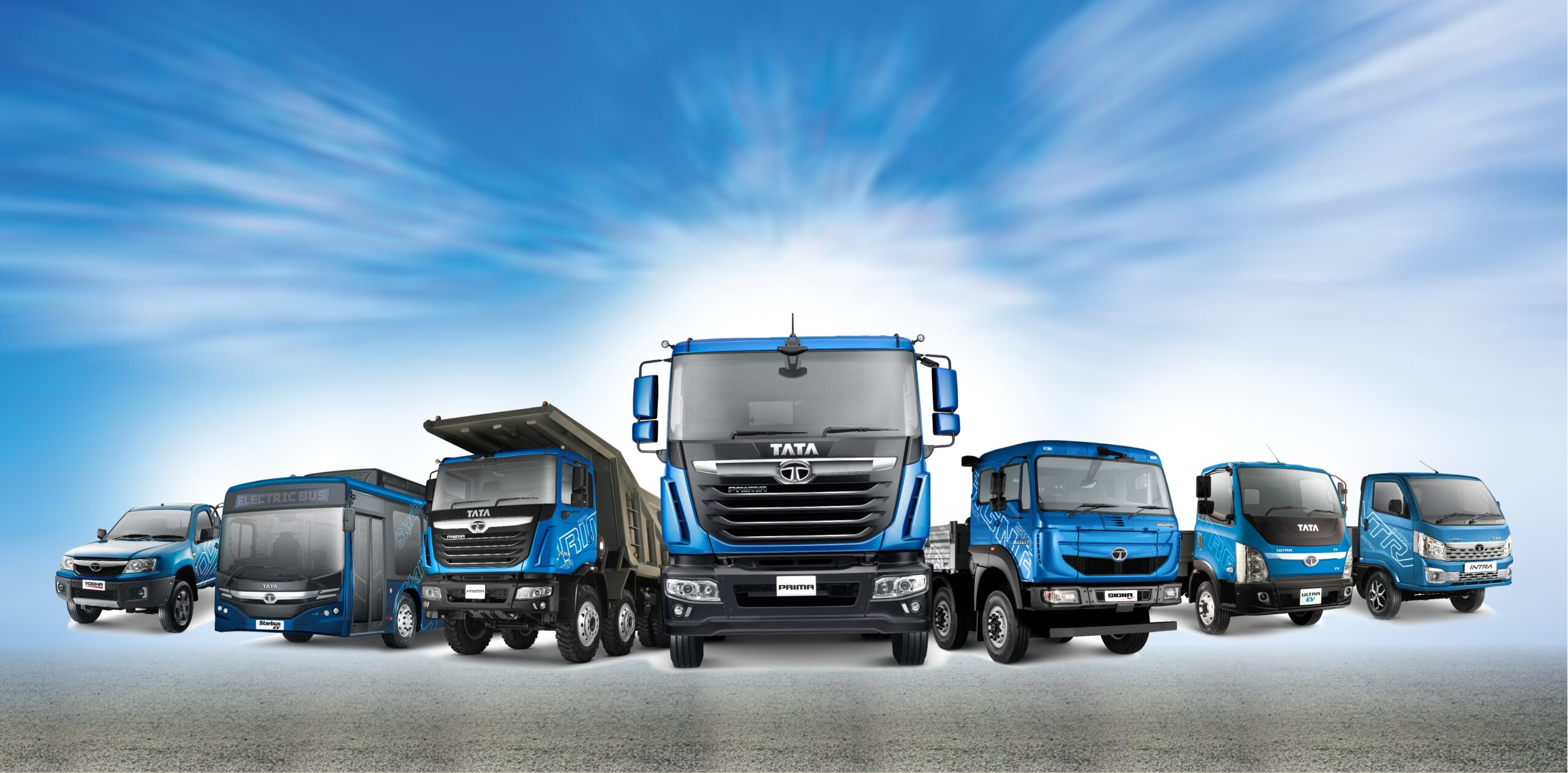 Tata Motors redefines transportation in India with its future-readyrange of commercial vehicles