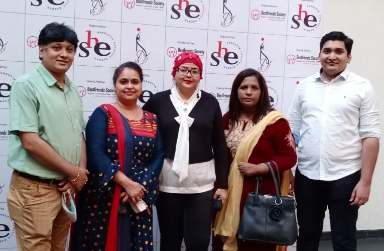"'SHE' in association with 'Best Friends Society'  launched ""Abused Durga"" Calendar"