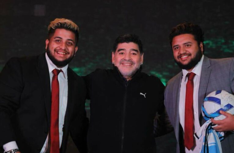 "Kolkata gets the first cricket stadium in the world named ""Diego Maradona Aditya School of Sports Cricket Stadium"" at Barasat"