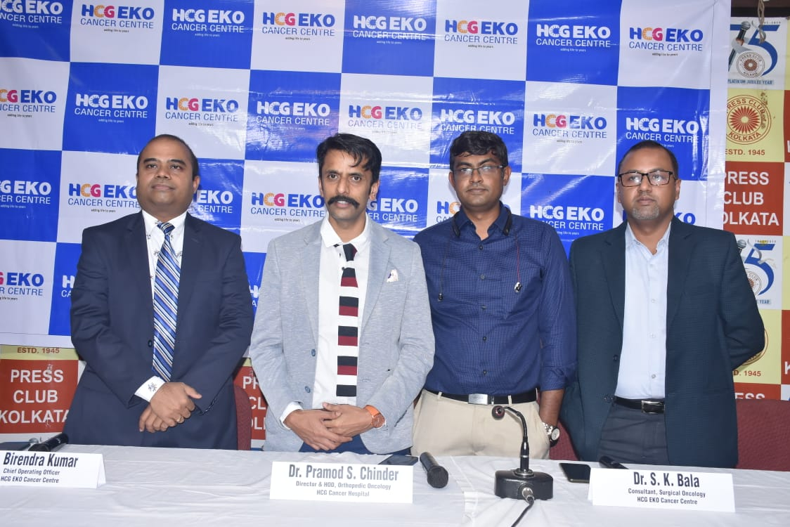HCG EKO Cancer Centre Kolkata launches Orthopedic Oncology Services with Best in the Class Facilities
