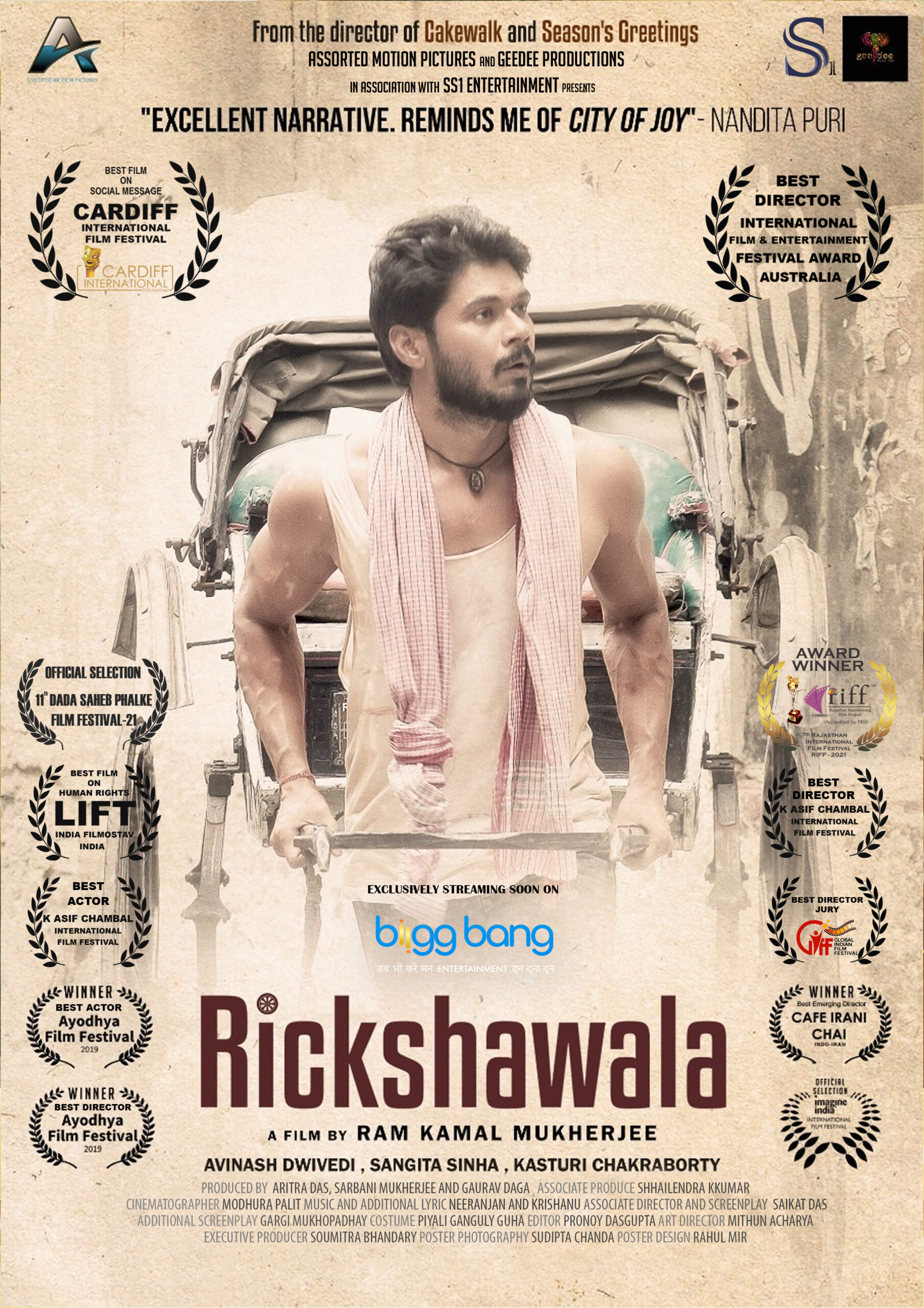 Assorted Motion Pictures's Rickshawala to premier on BIIGGBANG