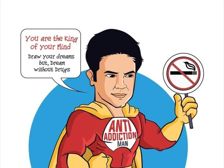 An APP, A SUPERHERO CHARACTER, PORTRAITS ,hundreds of mails etc. from children and parents