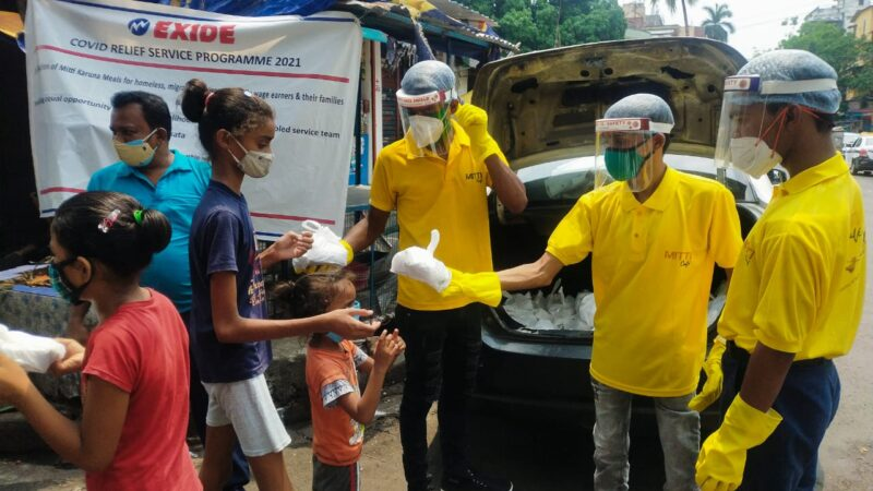 Exide reaches out to Covid Warriors in city