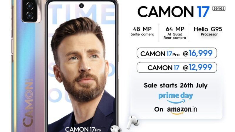 TECNO CAMON 17 series redefines smartphone videography with pioneering 48 MP Selfie & 64 MP Quad Rear camera