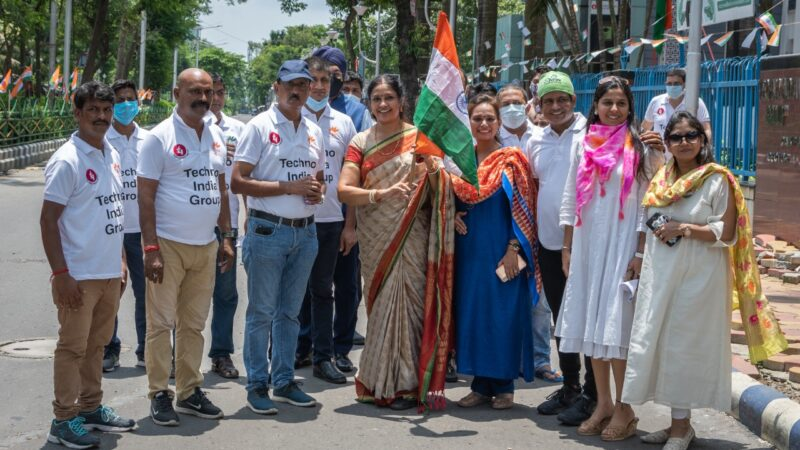 Techno India Group Venerate Independence Day in True Spirit of Patriotism