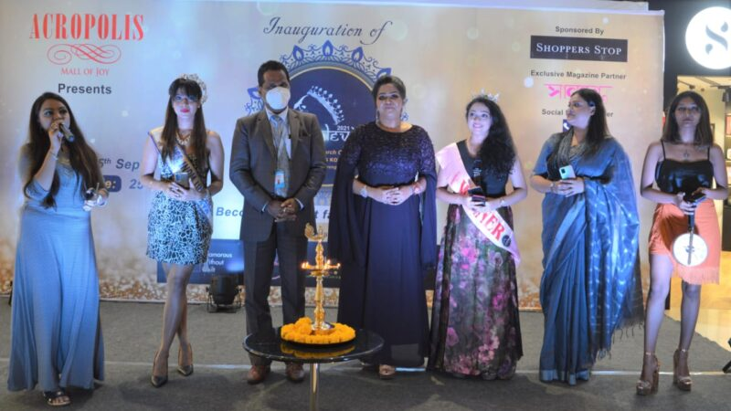 The Third edition of Ms. Blooming Kolkata – a fashion cum beauty pageant
